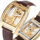 Men Luxury Steampunk Automatic Mechanical WristWatches for Male Skeleton Watches image