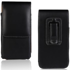 New Magnetic Belt Clip Holster Carrying Pouch Phone Black Case PU Leather Cover