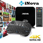 Pro 4K 1080P 64-bit Android 7.1 / 1GB+8GB HD 4K 3D Smart TV Box + Keyboard US