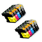 New Inkjet Cartridges for Brother LC203XL works for MFC J680DW J880DW J885DW