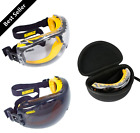 Kyпить Dewalt Safety Goggles Eye Protective Over Glasses Concealer Clear Anti-Fog Case на еВаy.соm