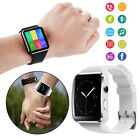 Bluetooth Sport Track Smart Watch Camera For iOS Samsung Android Phone Mate