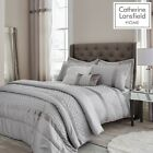 Catherine Lansfield Sequin Cluster Silver Luxury Duvet Cover Set or Accessories image