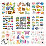 Flower Patches Iron On Clothes Stickers DIY Thermal Transfer Clothing Printed