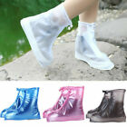4-Color Waterproof Reusable Rain Shoes Overshoes Anti-slip Boot Protector Bag US