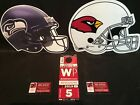Arizona Cardinals Seattle Seahawks Red WP West Preferred Lot Parking Pass Ticket
