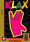 Retro Klax Game Poster//NES Game Poster//Video Game Poster//Vintage Game Cover R