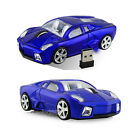 2.4Ghz Wireless Lamborghini car mouse Optical Game mice for PC Laptop USB Dongle