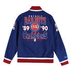 Detroit Pistons Mens Mitchell & Ness Team History Warm Up Basketball Jacket New on eBay
