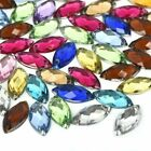 100pcs Marquise Acrylic Rhinestones Beads DIY Jewerly Wedding Accessories
