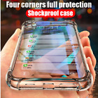 Galaxy S10 S10e S10+ Note 9 Case Cover Clear Shockproof Silicone Protective Gel