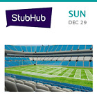 New Orleans Saints at Carolina Panthers Tickets - Charlotte