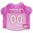 Denver Broncos Dog Jersey - LARGE - Pink - NFL Official - NWT $11.69 USD on eBay