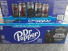 Limited Edition Dark Berry Dr Pepper 3, 6, 12, 24 Cans Spider-Man Far From Home