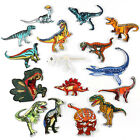 Dinosaur Badges Embroidered Iron on Patch Animal Emblems Child DIY Repair Logos $0.99 USD on eBay