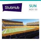 Indianapolis Colts at Pittsburgh Steelers Tickets - Pittsburgh
