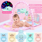 3 in 1 Baby Light Musical Baby Gym Play Mat Lay Pad Play Fitness Fun Piano Toy