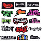Color Badges Embroidered Iron on Patch Rock Emblems Sports Sewing Hat Bag Repair $0.99 USD on eBay