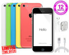 APPLE iPHONE 5C 8GB / 16GB / 32GB - Unlocked - Pink, Blue, White, Green, Yellow