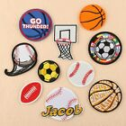 Football Badges Embroidered Iron on Patch Basketball Emblems Sport Hat Bag Craft $0.99 USD on eBay
