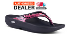 🔥OOFOS OOLALA GEO SANDAL Pink Women's Thong Flip Flop Recovery - NEW!