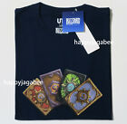 UNIQLO 2019 Men BLIZZARD Graphic Tee HearthStone Cards Navy NEW 42146300001