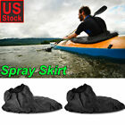 Adjustable Waterproof Nylon Kayak Spray Skirt Deck Sprayskirt Cover Accessories