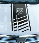Hood Decal Dodge Ram 1500 2500 3500 Hemi 4x4 Truck Stripe Vinyl Sticker HQ