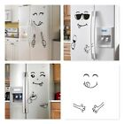 Refrigerator Decal Art Happy Face Delicious Kitchen Home Decor Removable Sticker