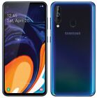 "Samsung Galaxy A60 SM-A6060 FACTORY UNLOCKED 6.3"" 128GB 6GB RAM Black, Orange"