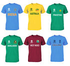 Cricket World Cup 2019 Shirt Fan Supporters T Shirt Cotton All Teams image