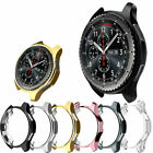 For Samsung Galaxy Watch Soft TPU Bumper Case Cover Screen Protector 42mm/46mm image