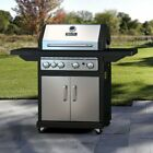 Dyna-Glo 4-Burner Gas Grill with Cast Iron Grates