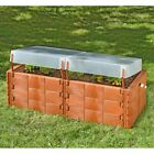 Exaco Raised Polyethylene Garden Bed