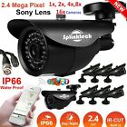 1 to 16 Pcs 1080p Full HD 2.4MP Sony CCTV Bullet Camera AHD Night Vision Outdoor