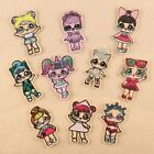 Cute Little Girl Badges Embroidered Iron on Patch Child Clothes Hat Bag Emblems $0.99 USD on eBay