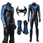 Halloween Cosplay Batman Young Justice Nightwing Costume Full Set Masquerade