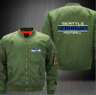2019 Seattle Seahawks Fan flight Jacket print men's baseball uniform coat on eBay
