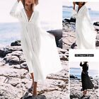 Vestito Lungo Donna Caftano Copricostume Woman Maxi Dress Cover Up ITALY