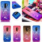 Bling Glitter Quicksand Diamond Frame Dynamic Liquid Soft Protective Case Cover