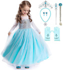 Romy's Collection Elsa Ice Queen Glitter Princess Dress