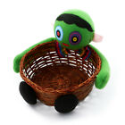 Black Cat Halloween Fruit Decoration Bowl Hand-woven Doll Ghost Candy Basket