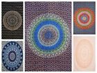 Внешний вид - Indian tapestry hippie mandala wall hanging Bohemian twin bedspread decor throw