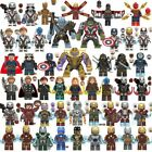 Avengers Minifigures 250 Marvel DC Thor Infinity War Tony End Game Super Heroes
