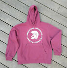 sometimes antisocial - always antifascist Hoodie burgund Gr. S-XXL