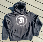 sometimes antisocial - always antifascist Hoodie schwarz Gr. S-XXL