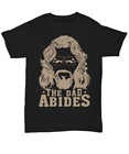 Funny The Dad Abides T Shirt For Man Best Fathers Day Gifts Tee To Daddy Grandpa