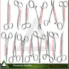 Hemostat Homeostatic Clamp Forceps & Tweezers Artery Surgical Medical Scissors