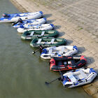 2-4 Person Inflatable Dinghy Boat /Outboard engine/ trolling motor/ Motor mount