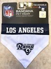 New NFL Los Angeles Rams Reversible Pet Bandana Official Team Pet Wear S/M L/XL $12.99 USD on eBay